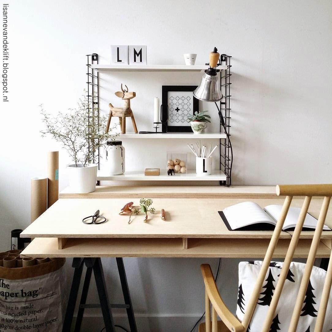 3.werkplek interieur styling
